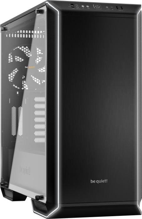 be quiet! Dark Base 700 schwarz, Glasfenster, schallgedämmt (BGW23)