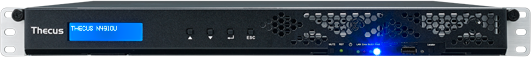 Thecus N4910U-R, 2x Gb LAN, 1HE