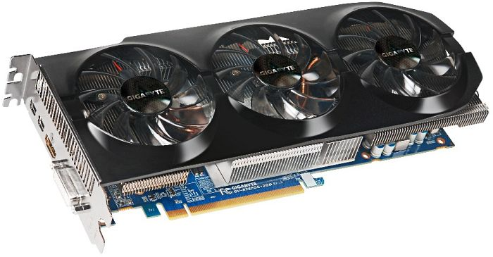 Gigabyte Radeon HD 7870 GHz Edition OC, 2GB GDDR5, DVI, HDMI, 2x Mini DisplayPort (GV-R787OC-2GD)