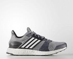 adidas Ultra Boost ST grey/footwear white/core red (Herren) (BA7839)