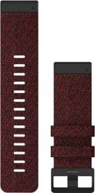 Garmin Ersatzarmband QuickFit 26 Nylon rotmeliert (010-12864-06)