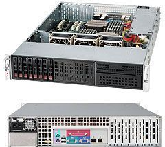 Supermicro 213LT-563LPB black, 2U, 560W