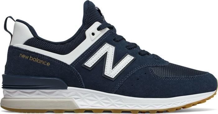 online store 19ed5 687b7 New Balance 574 Sports vintage indigo/white (men) (MS574FCN) from £ 73.17