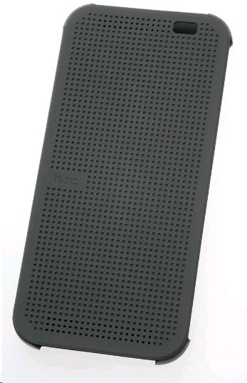 HTC HC-M100 Dot View case for One (M8) grey