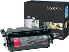 Lexmark Toner 12A7360 schwarz