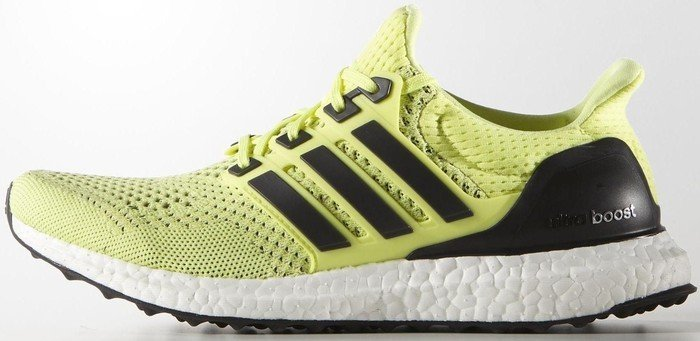 adidas Ultra Boost frozen yellow/midnight indigo/semi frozen yellow (ladies) (S77512)