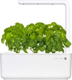 Emsa Smart Garden 3 Click & Grow Indoor Pflanzkasten weiß