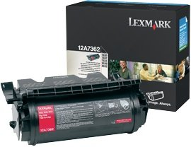 Lexmark 12A7362 Toner black high capacity