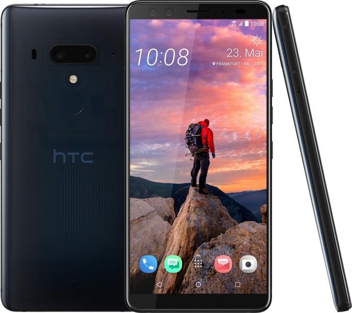 HTC U12+ Dual-SIM blau/transparent