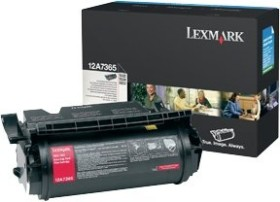 Lexmark Toner 12A7365 black very high capacity