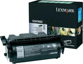 Lexmark Return Toner 12A7460 schwarz