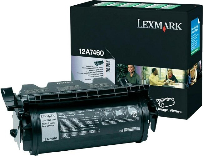 Lexmark 12A7460 Return Toner black