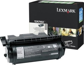 Lexmark Return Toner 12A7462 schwarz