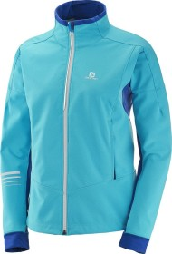 Salomon Lightning warm Softshell Jacket bluebird (ladies) (397320)