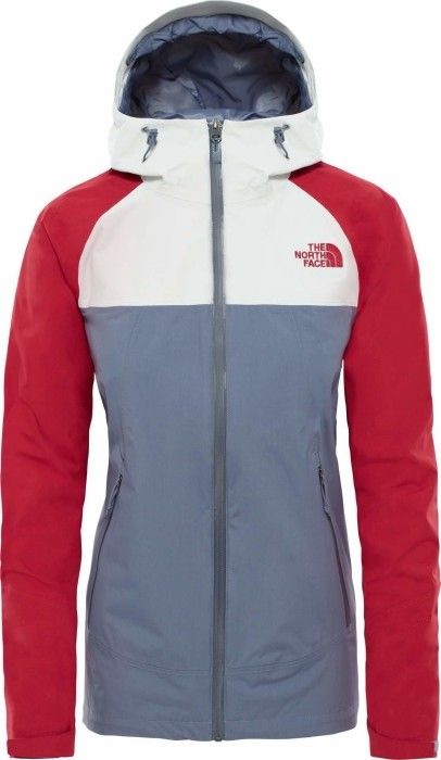 The North Face Stratos Jacke grisaille greytin greyrumba red (Damen) (CMJ0 7KQ) ab € 87,95