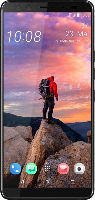 HTC U12+ Single-SIM blue/transparent
