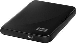 Western Digital My Passport Essential New black 640GB, USB 2.0 (WDBAAA6400ABK-EESN)