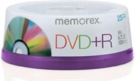 Memorex DVD+R 4.7GB 16x, 25-pack (864111-25)
