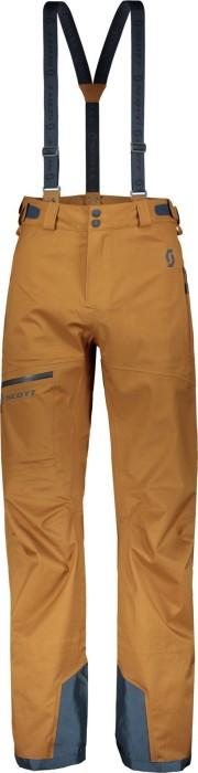 Scott Explorair 3L ski pants long tobacco brown (men)
