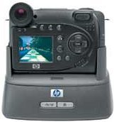 HP Photosmart 945 digital camera with docking station (Q2203A)