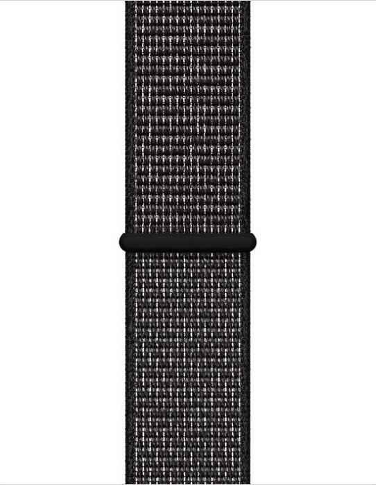 Apple Nike Sport Loop für Apple Watch 40mm schwarz (MX7Y2ZM/A)