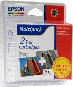 Epson T036BA Tinte Multipack (C13T036140BA/C13T036240)