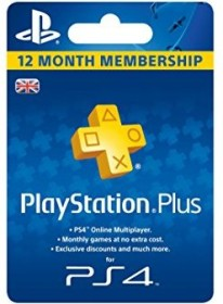 Sony Playstation Plus Subscription Card - 365 days subscription for English accounts (PS5/PS4/PS3/PSVita)