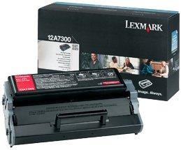 Lexmark Toner 12A7300 black