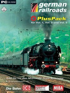 Microsoft Train Simulator - German Railroads PlusPack (Add-on) (German) (PC)