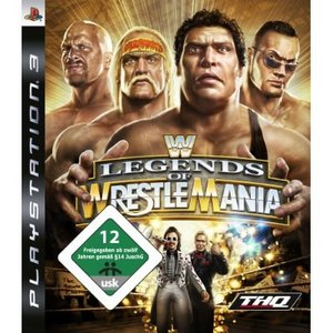 WWE Legends of WrestleMania (English) (PS3)