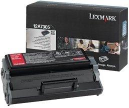 Lexmark Toner 12A7305 schwarz hohe Kapazität