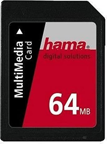 Hama MultiMedia Card (MMC) 64MB (33276/56995) -- via Amazon Partnerprogramm