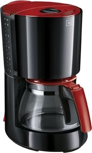 Melitta Enjoy glass black/red