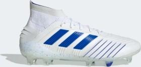 adidas Predator 19.1 FG ftwr white/bold blue/ftwr white (Herren) (BC0550)