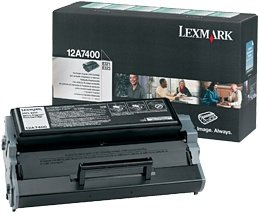 Lexmark Return Toner 12A7400 black