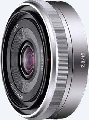 Sony lens AF E 16mm 2.8 Pancake (SEL-16F28) -- http://bepixelung.org/12848