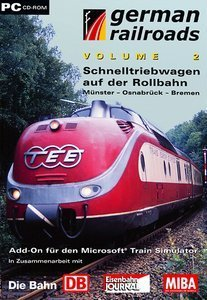 Microsoft Train Simulator - German Railroads Volume 2 (Add-on) (niemiecki) (PC)