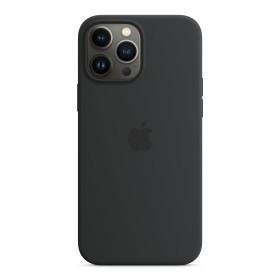 Apple Silikon Case mit MagSafe für iPhone 13 Pro Max Mitternacht (MM2U3ZM/A)