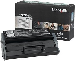 Lexmark 12A7405 Return Toner black high capacity