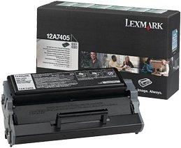 Lexmark 12A7405 toner zwrotny czarny wysoka pojemność