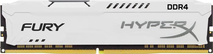 Kingston HyperX Fury weiß DIMM 16GB, DDR4-2933, CL17-19-19 (HX429C17FW/16)