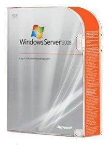 Microsoft: Windows Server 2008 Standard OEM/DSP/SB, incl. 5 CAL (English) (PC) (P73-04001)