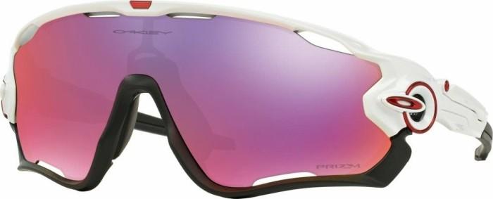Oakley - Jawbreaker Prizm Road - Fahrradbrille weiß/lila/rosa/grau A3jMY7