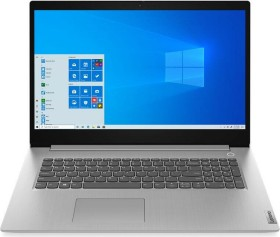 Lenovo IdeaPad 3 17IIL05 Platinum Grey, Core i3-1005G1, 8GB RAM, 512GB SSD, 1600x900, Fingerprint-Reader, Windows 10 Home (81WF002EGE)