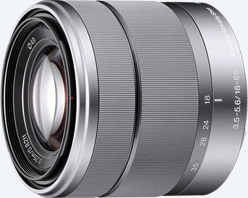 Sony E 18-55mm 3.5-5.6 OSS silver (SEL-1855)