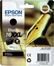 Epson Tinte 16XXL schwarz (C13T16814010)