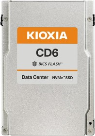 KIOXIA CD6-V Data Center Mixed Use SSD 6.4TB, SIE, U.3 (KCD6XVUL6T40)
