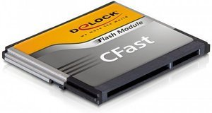 DeLOCK CFast Flash Card Typ II CompactFlash Card (CF) 64GB (54255)