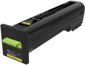 Lexmark Return Toner 82K2XY0 gelb extra hohe Kapazität