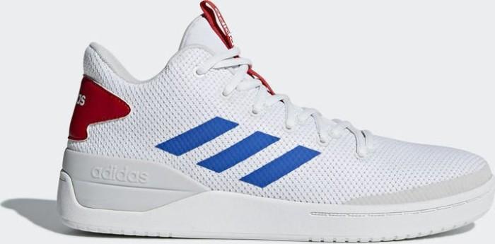 adidas B-Ball 80s ftwr white/blue/scarlet (Herren) (B44835)